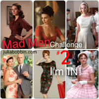 Julia Bobbin's Mad Men Challenge