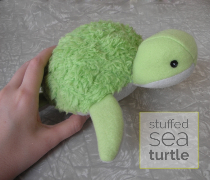 Stuffed Sea Turtle