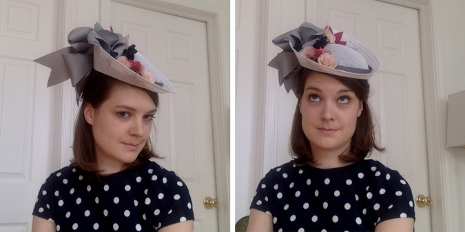 Finished Derby Hat