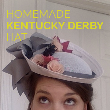 Homemade Kentucky Derby Hat