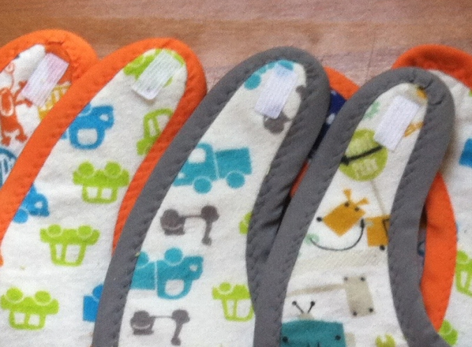 DIY Baby Shower Gifts: Bibs, Burp Cloths and Bath Towels